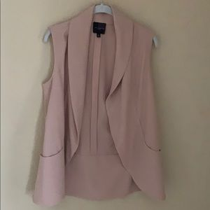 The Limited dusty pink vest